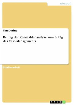 Beitrag der Kennzahlenanalyse zum Erfolg des Cash-Managements (eBook, ePUB) - During, Tim