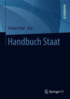 Handbuch Staat / 2 Bände