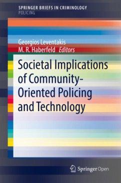 Societal Implications of Community-Oriented Pol...