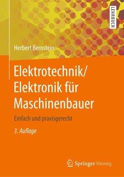 Elektrotechnik/Elektronik für Maschinenbauer - Bernstein, Herbert