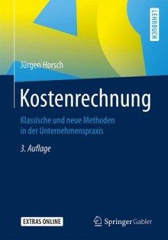 Kostenrechnung - Horsch, Jürgen