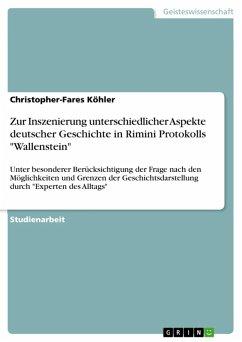 Zur Inszenierung unterschiedlicher Aspekte deutscher Geschichte in Rimini Protokolls