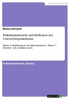 Praktikumsbericht und Reflexion des Unterrichtspraktikums (eBook, ePUB)