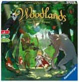 Ravensburger 26777 - Woodlands, Das fabelhafte Legespiel, Familienspiel