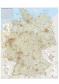 Verkehrswegekarte Deutschland