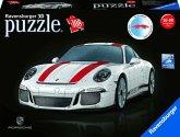 Ravensburger 12528 - Porsche 911 R, 3D Puzzle 108 Teile