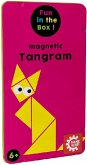 Carletto 646208 - Gamefactory, Magnetic Tangram, Reisespiel