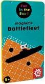 Carletto 646205 - Gamefactory, Magnetic Battlefleet (Schiffe versenken), Reisespiel