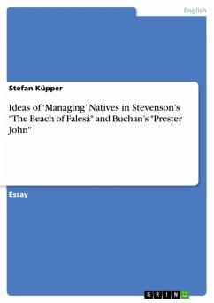 Ideas of 'Managing' Natives in Stevenson's
