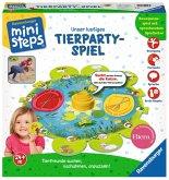 Ravensburger 04547 - ministeps® Tierpartyspiel, Lernspiel, Kleinkindspiel