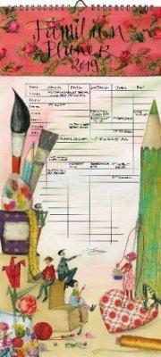 Kreative Familie Familienplaner 2019