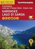 Gardasee - Lago di Garda - Lake Garda, Freizeitkarte