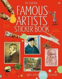 Famous Artists Sticker Book - Cullis, Megan