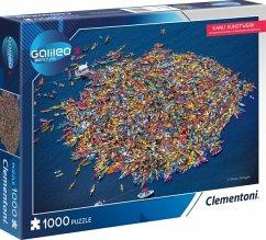 Galileo Kanu Kunstwerk (Puzzle)