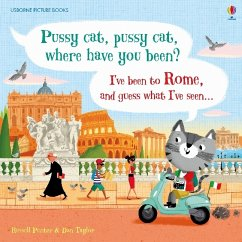 Pussy cat, pussy cat, where have you been? I've been to Rome and guess what I've seen... - Punter, Russell