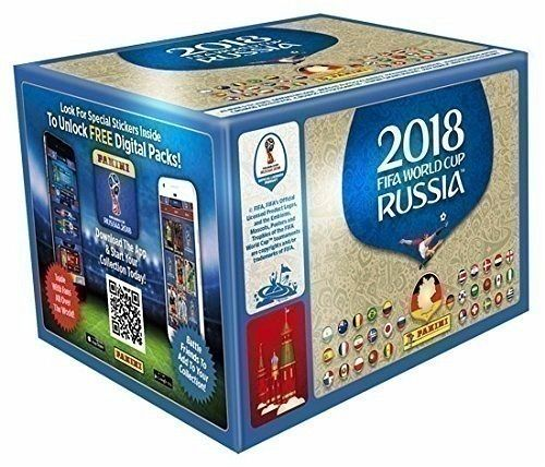 Panini Fifa World Cup Russia 2018 - Sammelsticker 100 Tüten