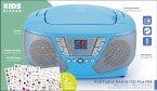 BigBen Kids, Tragbares CD/Radio CD60, CD-Player, blau
