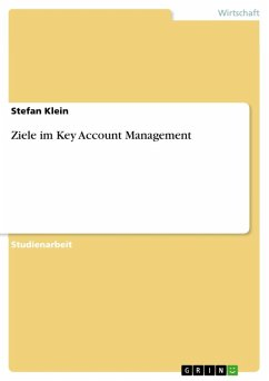 Ziele im Key Account Management (eBook, ePUB)