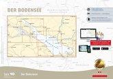 Delius Klasing-Sportbootkarten: Bodensee (Ausgabe 2018/2019), m. CD-ROM