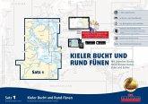 Delius Klasing-Sportbootkarten: Kieler Bucht und Rund Fünen (Ausgabe 2018), m. CD-ROM