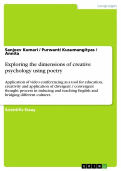Exploring the dimensions of creative psychology using poetry