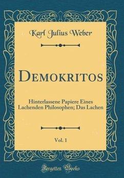 Demokritos, Vol. 1