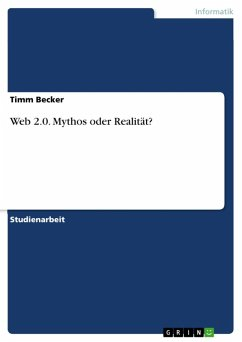 Web 2.0 - Mythos oder Realität? (eBook, ePUB)