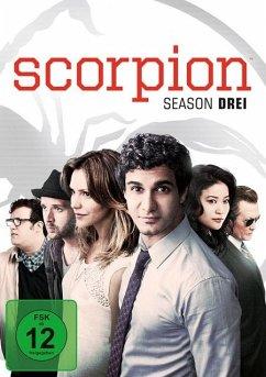 Scorpion - Season 3 DVD-Box - Eddie Kaye Thomas,Ari Stidham,Elyes Gabel