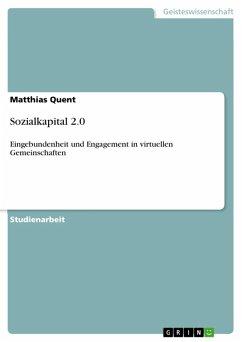 Sozialkapital 2.0 (eBook, ePUB)