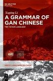 A Grammar of Gan Chinese (eBook, ePUB)