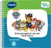 Vtech 80-480204 - Lernstufe 2, Erkundungstour mit der Paw Patrol, Magibook Lernbücher