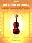101 Popular Songs -For Violin-