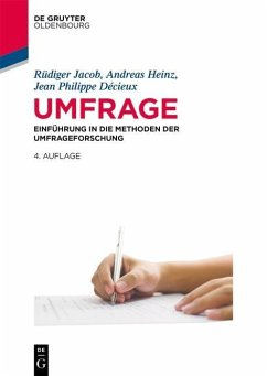 Umfrage - Jacob, Rüdiger; Heinz, Andreas; Décieux, Jean Philippe