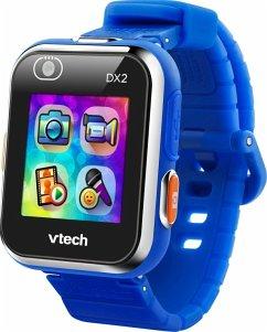VTech 80-193804 - Kidizoom Smart Watch DX2, Blau, Smartwatch für Kinder, Kindersmartwatch