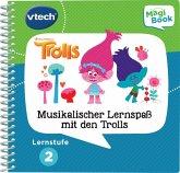 VTech 80-480304 - Lernstufe 2, Musikalischer Lernspass mit Den Trolls, Magibook Lernbücher