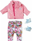 Zapf Creation 825259 - Baby Born City Deluxe Scooter Outfit, Kleider-Set