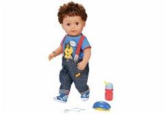 Zapf Creation 825365 - Baby Born Brother, interaktive Puppe 43 cm