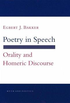 Poetry in Speech (eBook, ePUB)
