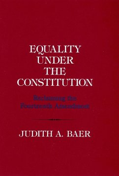 Equality under the Constitution (eBook, ePUB)