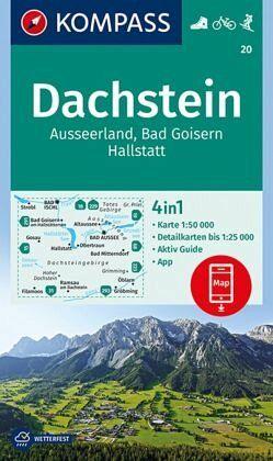 Dachstein Karte.Kompass Wanderkarte Dachstein Ausseerland Bad Goisern Hallstatt