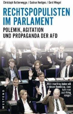 Rechtspopulisten im Parlament - Butterwegge, Christoph; Hentges, Gudrun; Wiegel, Gerd