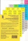 SteuerErlasse mit Stichworten, Griffregister