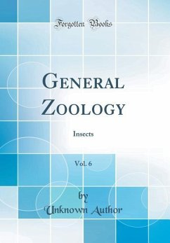 General Zoology, Vol. 6