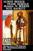 4 Fantasy Sagas: Nebelwelt/ Wybran/ Die Dämmerschmiede/ Godwin (eBook, ePUB)