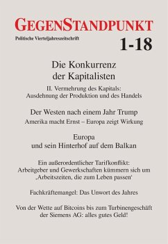 GegenStandpunkt 1-18 (eBook, ePUB)