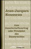 Vom Gesellschaftsvertrag oder Prinzipien des Staatsrechtes (eBook, ePUB)
