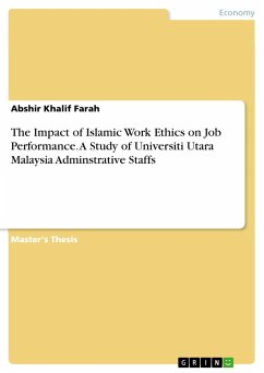 The Impact of Islamic Work Ethics on Job Perfor...