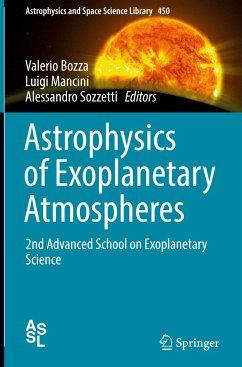 Astrophysics of Exoplanetary Atmospheres
