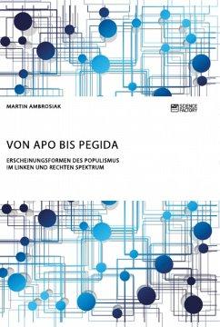 Von APO bis Pegida. Erscheinungsformen des Populismus im linken und rechten Spektrum (eBook, ePUB)