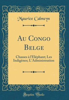 Au Congo Belge